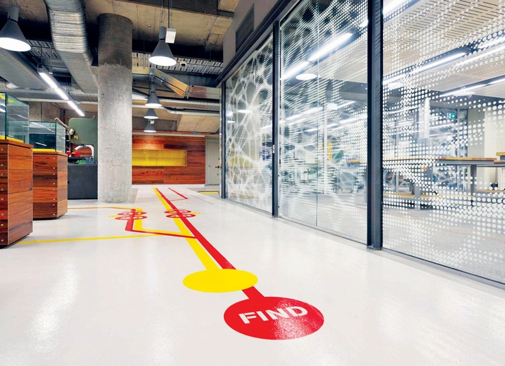 Communications university of sydney interior design