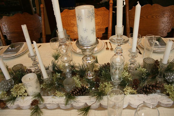 Pin By Mary Dargene On Holiday Table Settings Pinterest