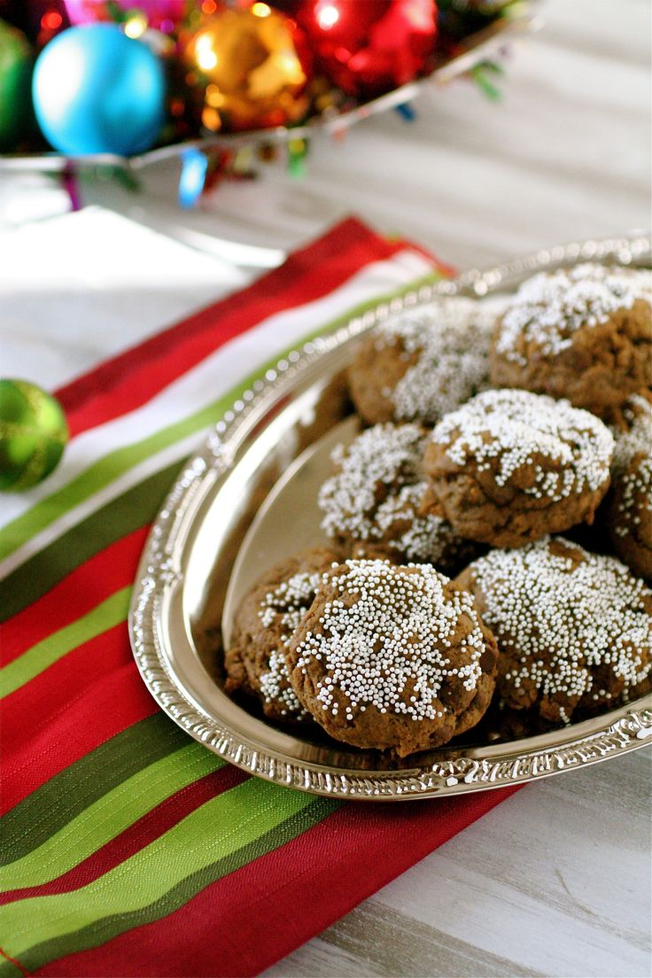 Chocolate Chip Gingerbread Cookies | :: Christmas Flavor :: | Pintere ...