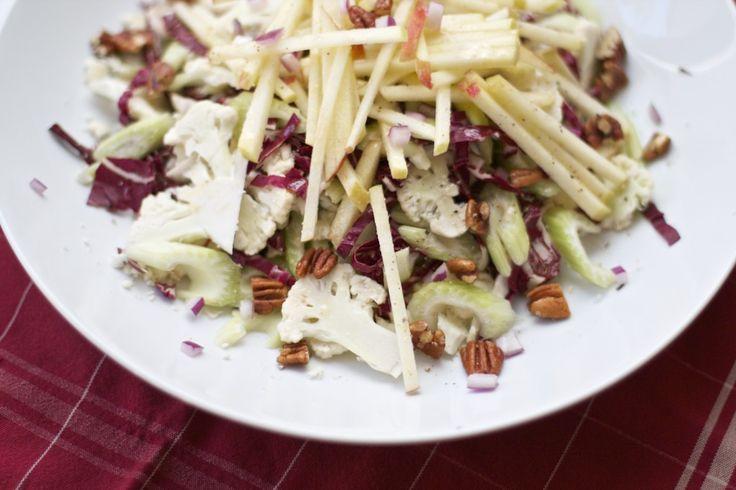 Cauliflower and Apple Salad with Radicchio from Sass and Veracity