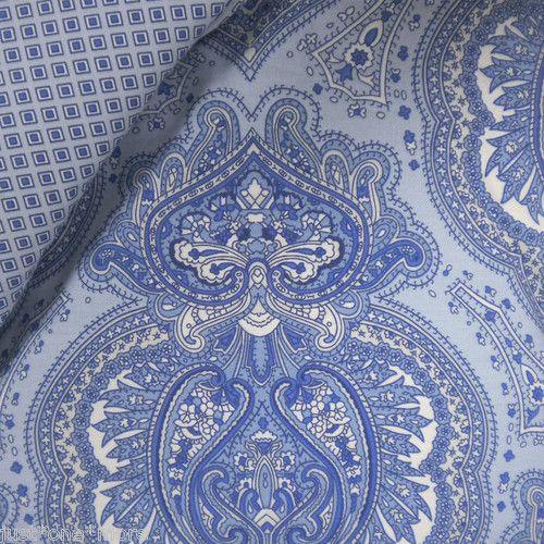 Ralph lauren classic medallion foulard 4pc king comforter set new w