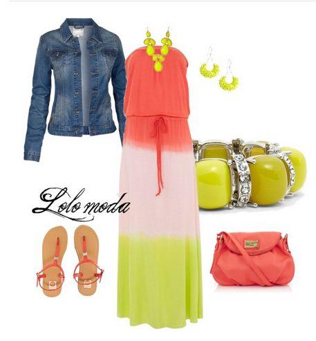 LOLO Moda: Unique lolo moda maxi dresses - summer fashion 2013