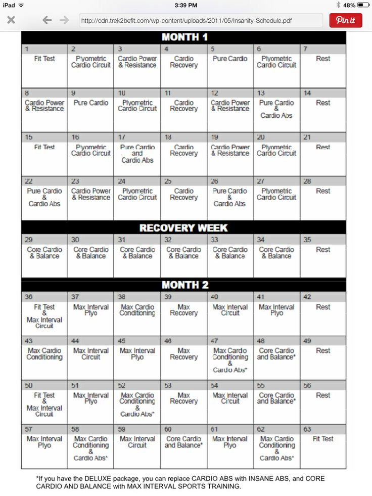 60 day revolution workout pdf
