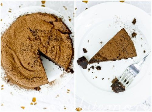 Dark chocolate expresso mousse cake | Chocolate | Pinterest