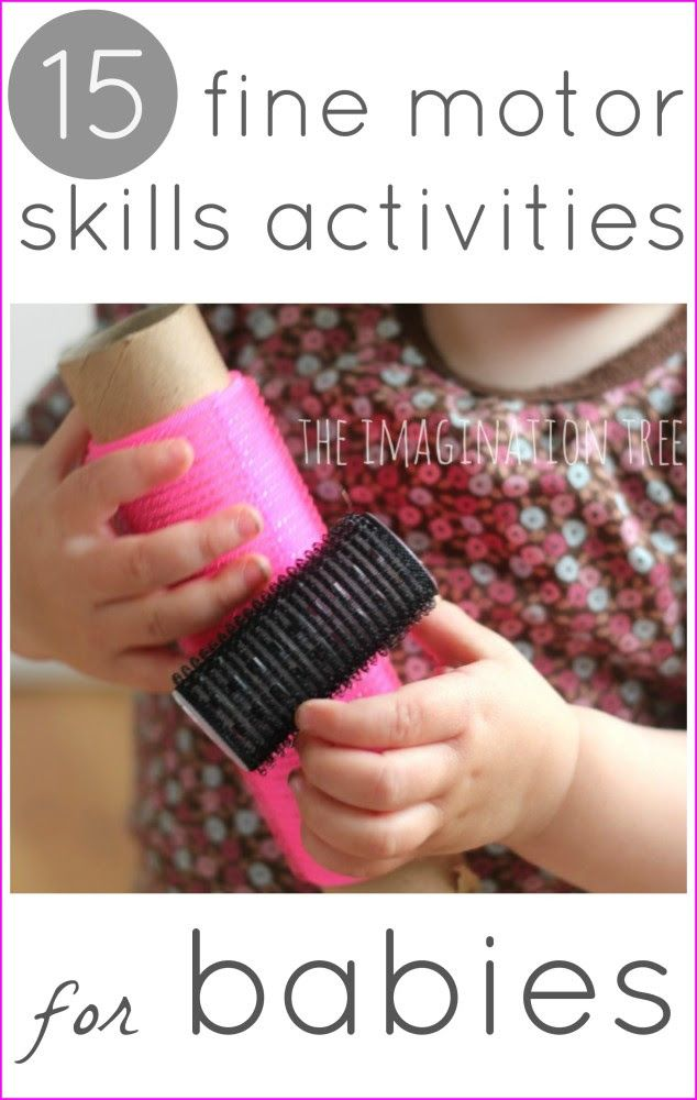Fine motor skills activities for babies baby diy ideas for Small motor activities for infants