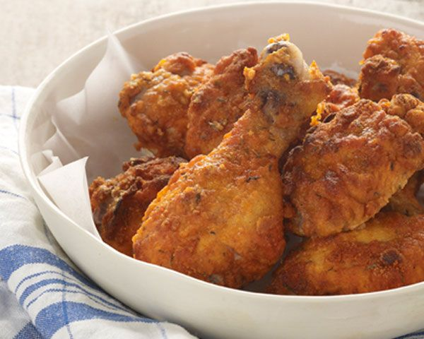 -Fried Chicken. I love using chicken thighs...by far the best chicken ...