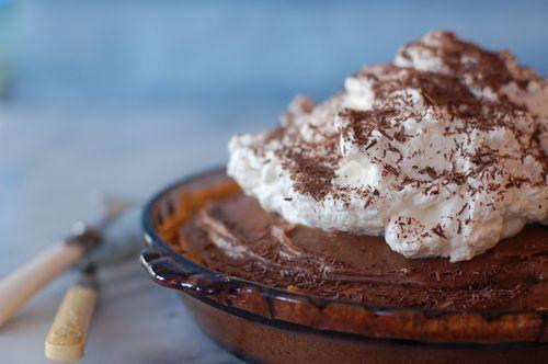 Recipe: Mile High Chocolate Pie | Amateur Cheffery | Pinterest