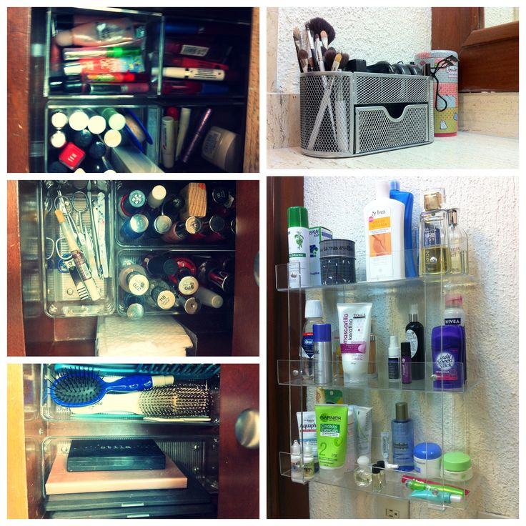 How I Organize My Vanity And Makeup My Life Pinterest