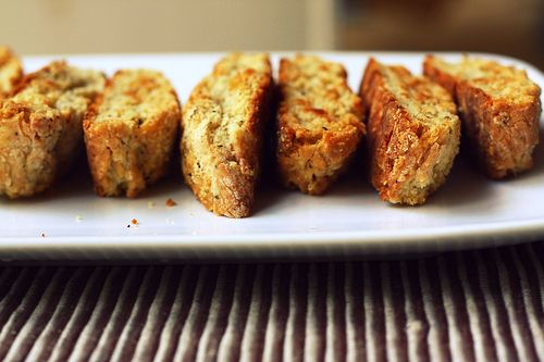 Parmesan Black Pepper Biscotti | Cookies and such | Pinterest