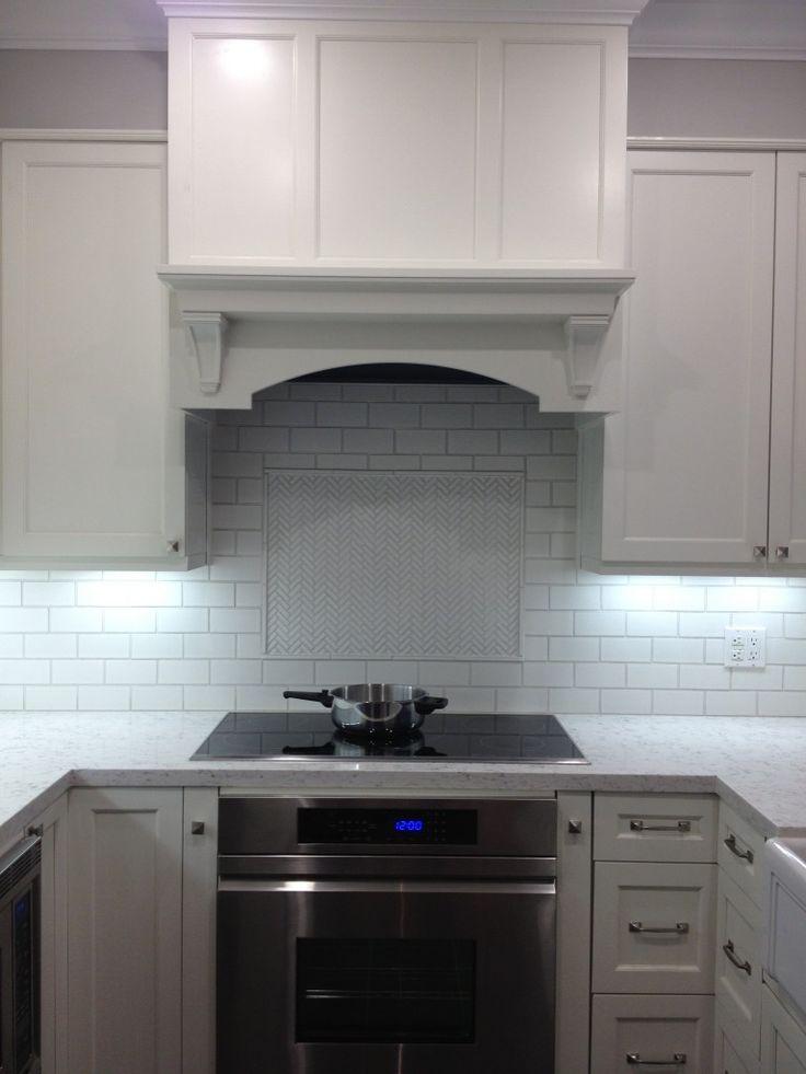 ann sacks ceramic herringbone backsplash home decor