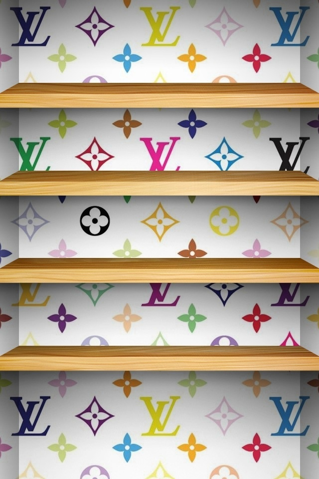 Louis vuitton background for iphone 4 4s wall paper for for Wallpaper home iphone 4s