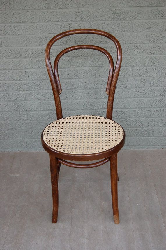 Vintage Thonet 14 Bentwood Cafe Style Chair