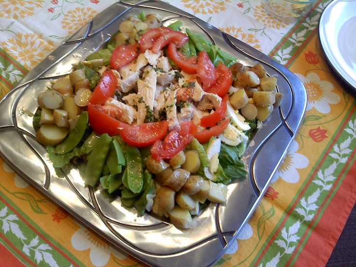 Chicken Nicoise Salad with Lemon Vinaigrette! Another yummy eMeals ...