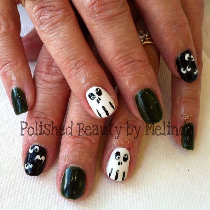 Halloween Shellac Nails | Polished Beauty by Melinda www.styleseat.com