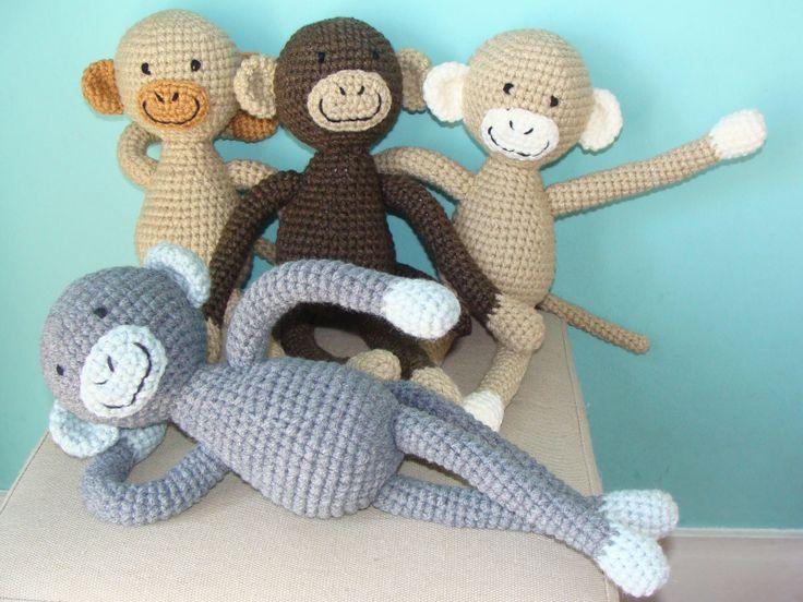 Monitos tejidos al crochet | Amigurumis | Pinterest