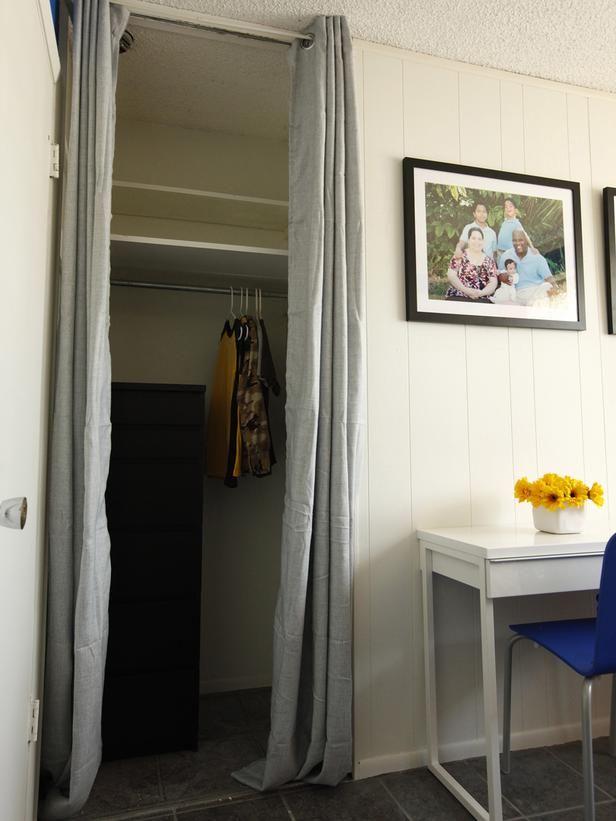 Closet Curtain Door The Place Pinterest