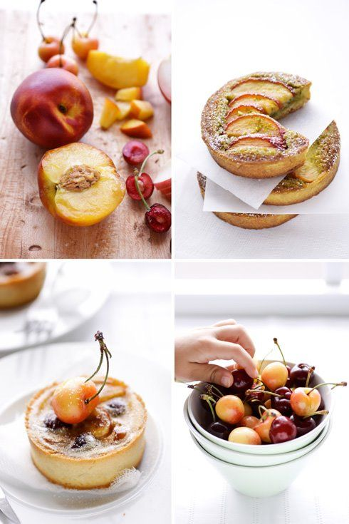 cannelle et vanille nectarine and pistachio frangipane tarts and ...