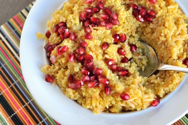 Tangerine-Scented Quinoa Pilaf | Grains: Quinoa & Bulgur | Pinterest