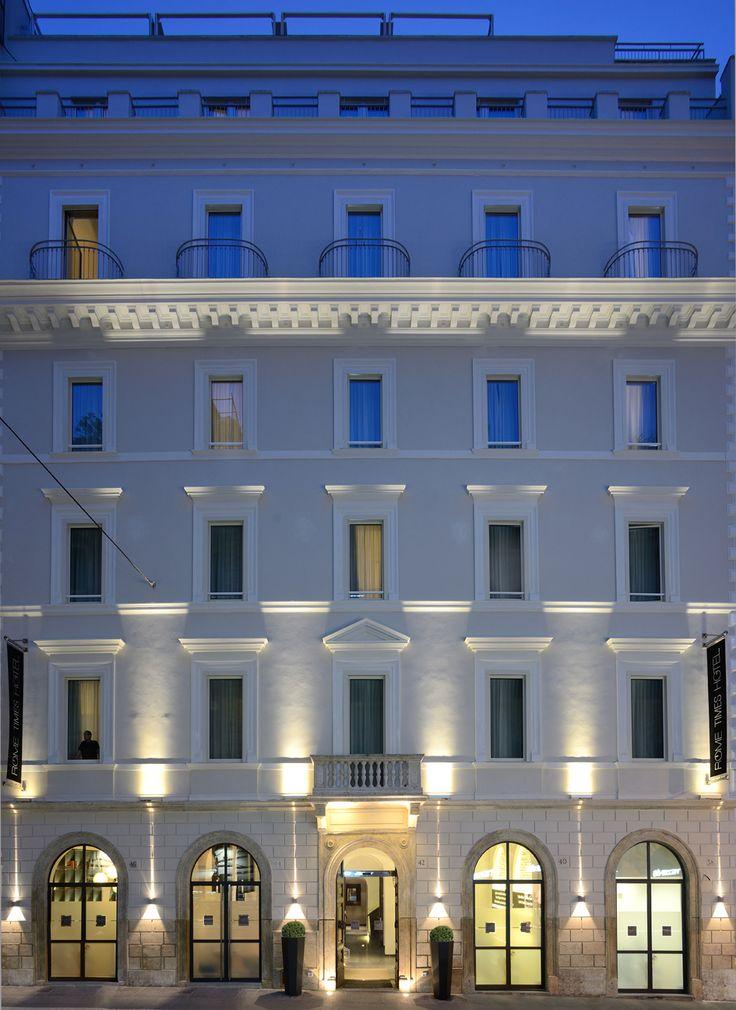 Facciata hotel rome times hotel rome hotels pinterest for Hotel roma rome