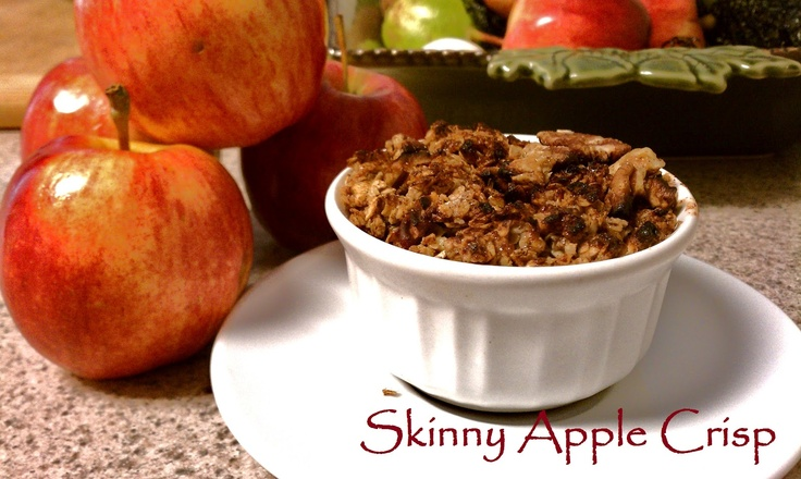 ... !! Check out the recipe on The Chocolate Locket: Skinny Apple Crisp