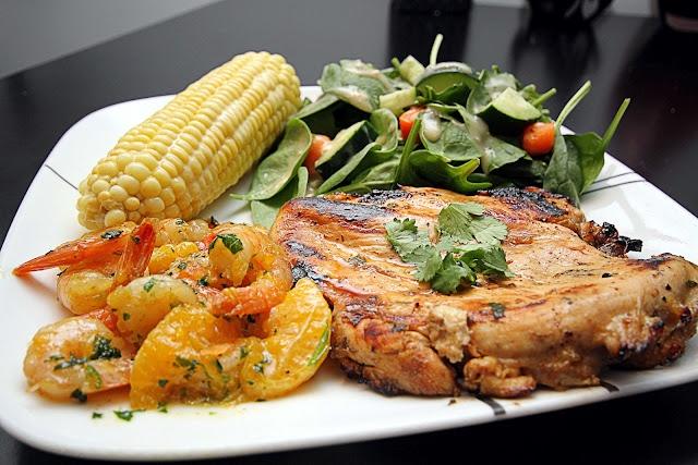 Tequila-Cilantro-Orange-Lime Shrimp & Chicken!!! YUMMY!!! Healthy ...