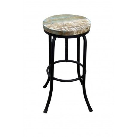 Mexican Industrial Style Bar Stool Mexican Furniture
