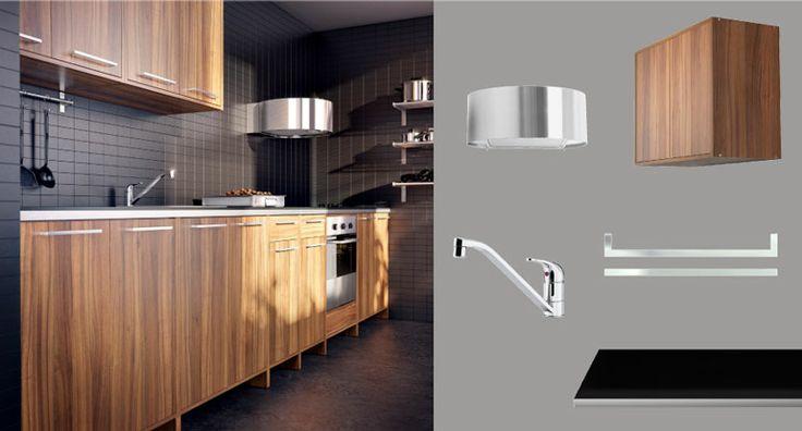 Fyndig Keuken Ikea : IKEA Metal Kitchen Cabinets