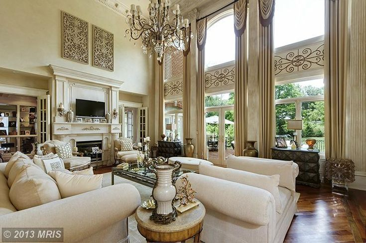 2 story great room home decor pinterest for 2 story living room decorating ideas