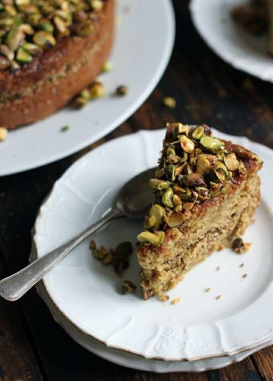 Orange Blossom Sesame Cake | Recipes to try | Pinterest