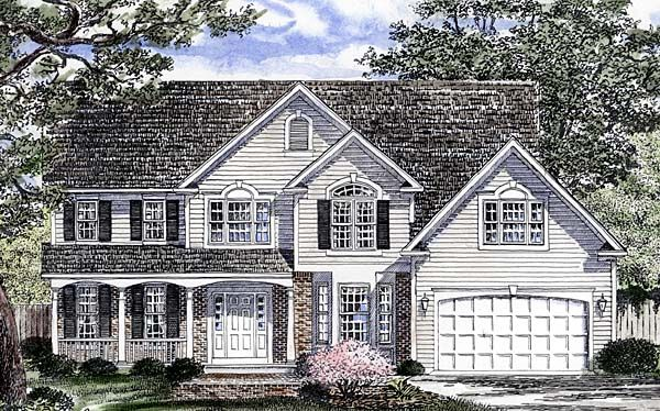 Southern Traditional House Plan 94165