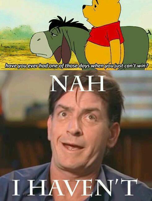 Funny Love Wins Meme : Charlie sheen all i do is win memes