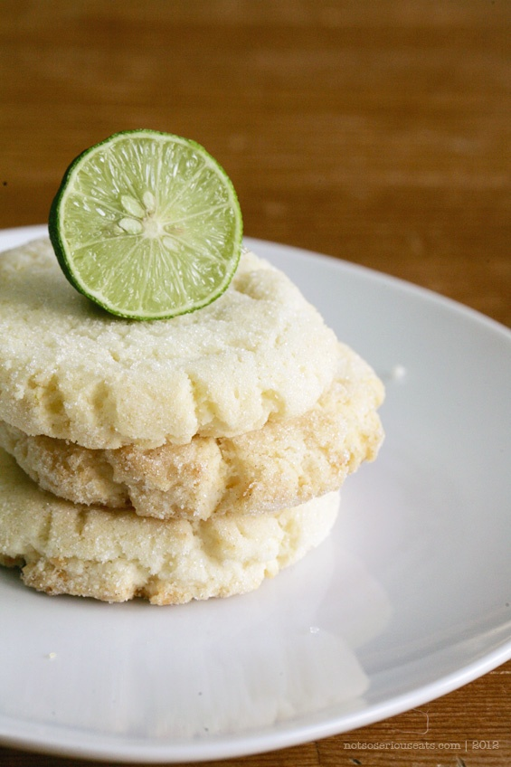 chewy coconut-lime sugar cookies ] | notsoseriouseats.com (my own b ...