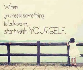 Believe quote via Carol's Country Sunshine on Facebook