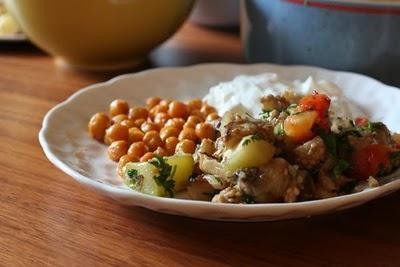Roasted Zucchini and Eggplant Salad