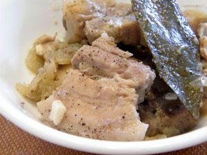 Adobong puti Filipino Dish #filipinofood #delicious #deliciousfood #