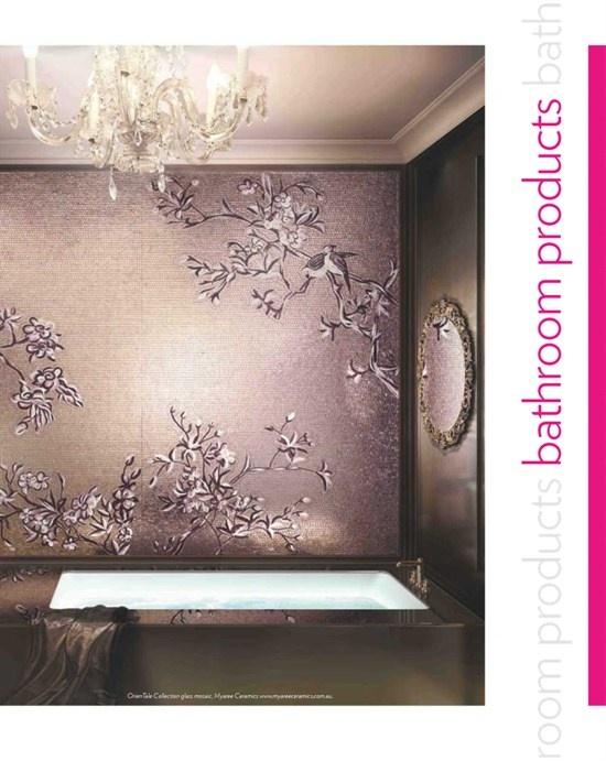 Wallpaper Bathroom Ideas Pinterest