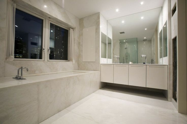 bathroom in park avenue apartment applied white floating vanity design exclusive design 6 x. beautiful ideas. Home Design Ideas