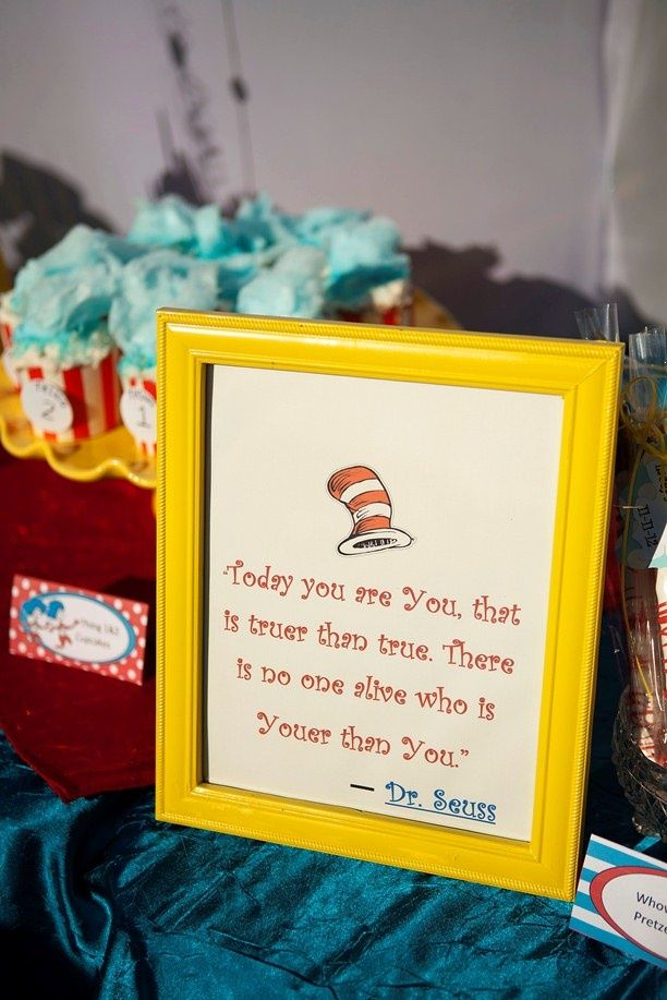 Baby Shower Themes Dr Seuss ~ Dr seuss baby shower ideas family