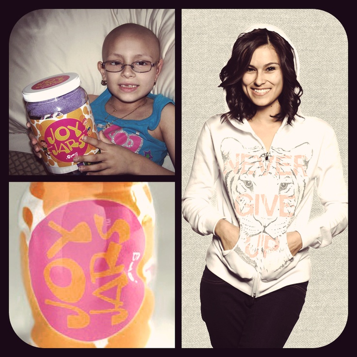 A little joy can brighten the darkest day.  Your purchase of 1 tee or hoodie = provides 1 JoyJar for a kid fighting CANCER!  #DoGood here -> http://svnly.org/PinLink