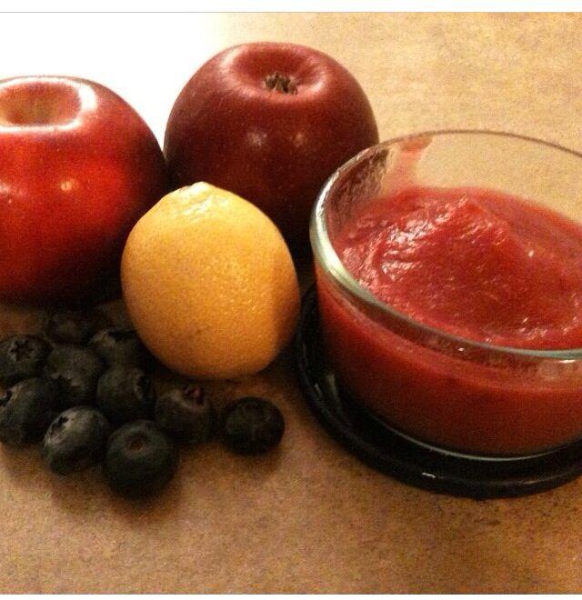 Homemade blueberry apple sauce | Recipes. | Pinterest