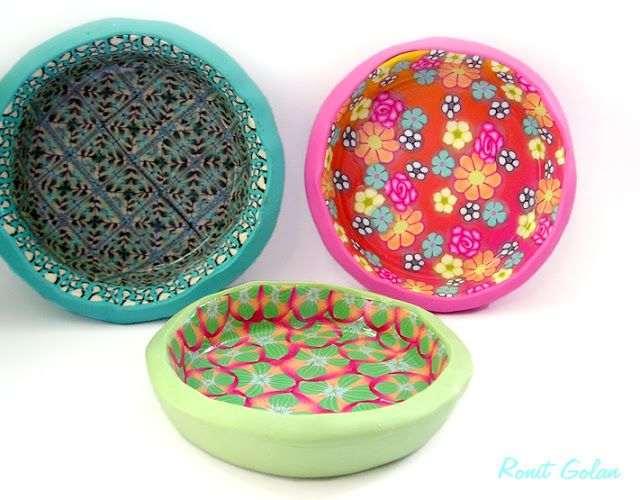 From Cookie Pan to Ring Dish | Arts & Crafts - Polymer Clay | Pintere ...