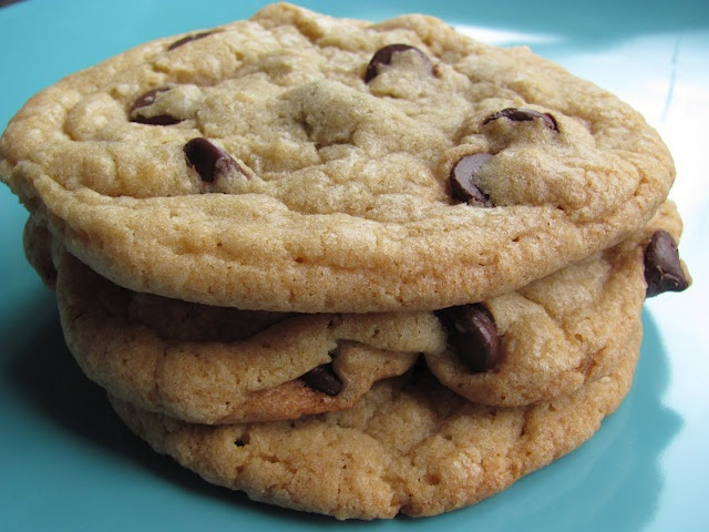 thick and chewy chocolate chip cookies | Food | Pinterest