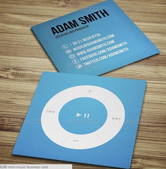 mini business card creative resumes and business