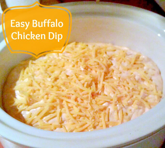 Easy_Buffalo_Chicken_Dip | Satisfying Sides and Snacks ...