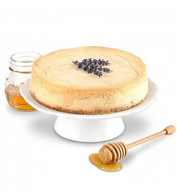Honey Lavender Cheesecake | Lavender Blue, Dilly, Dilly! | Pinterest
