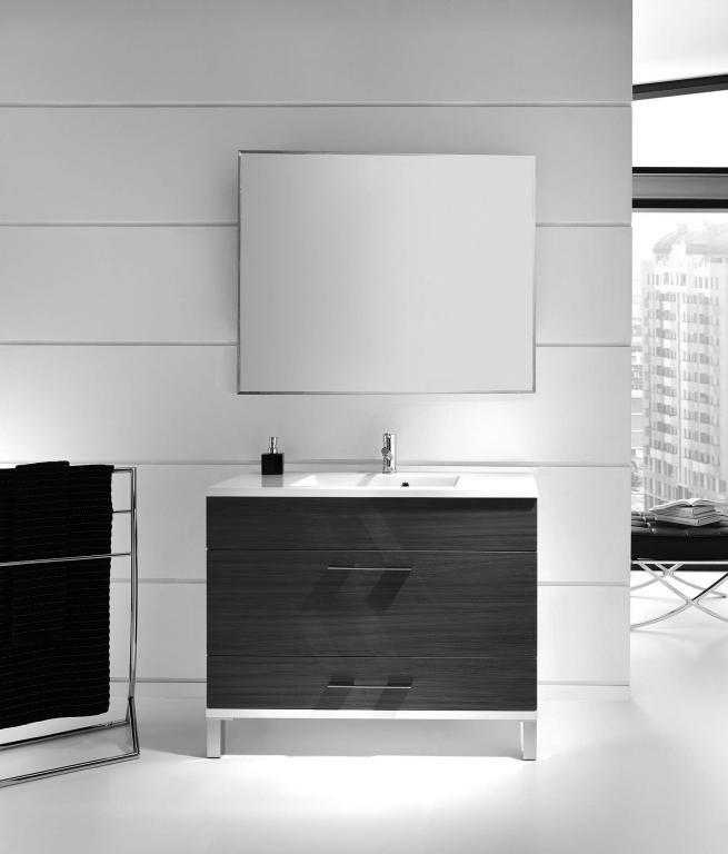Muebles Para Baño Wengue:Mueble de baño ambar wengué