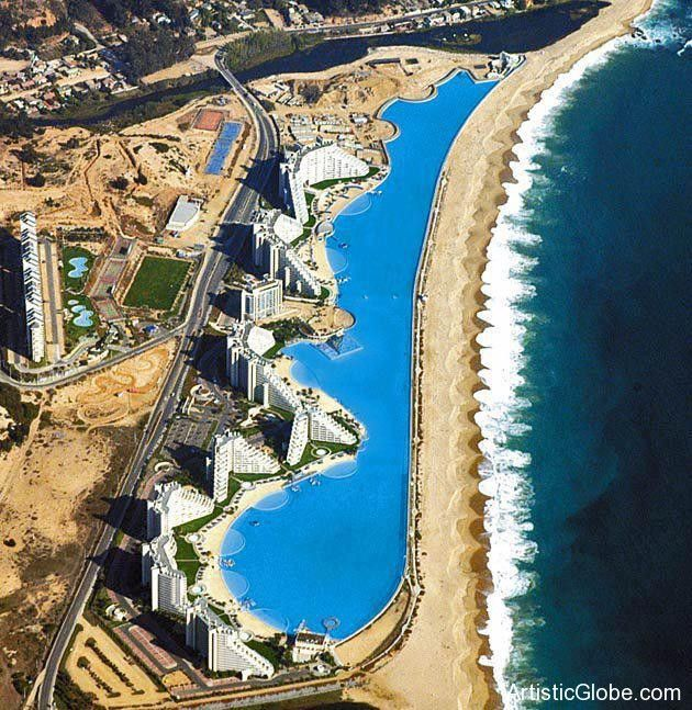 World 39 S Largest Swimming Pool Chile Favorite Places And Spaces