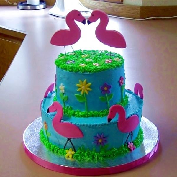 Flamingo Cake Kids Party Ideas Pinterest