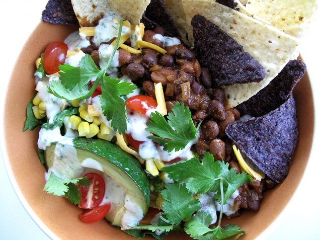 Two-Bean Taco Salad: This taco salad is surprisingly light. It's ...