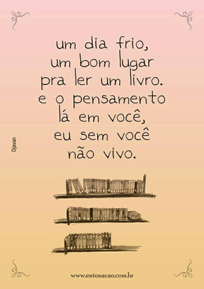 Um bom lugar pra ler um livro... | dia a dia | Pinterest